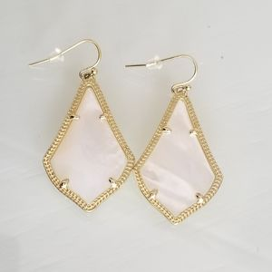 Kendra Scott Ivory MOP Alex Earrings